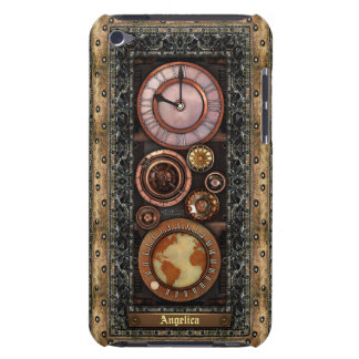 Elegant Vintage Steampunk Timepiece Barely There iPod Cover