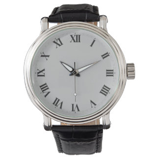 Elegant Watch/w Roman numerals Watch