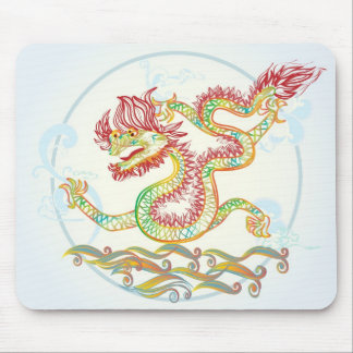 elegant water dragon for the 2012 Chinese new year Mouse Pads