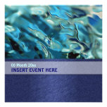 Elegant water environment energy conference personalized announcement