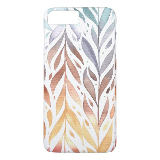 Elegant Watercolor Autumn Leaves | Phone Case
