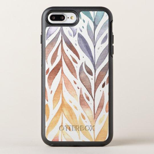 Elegant Watercolor Autumn Leaves   Phone Case