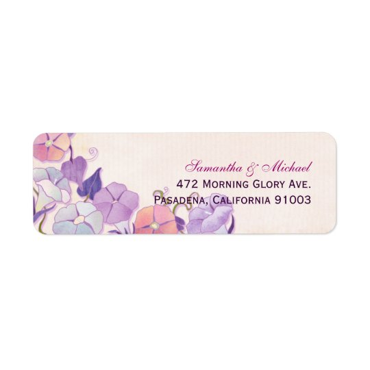 Elegant Wedding Address Label
