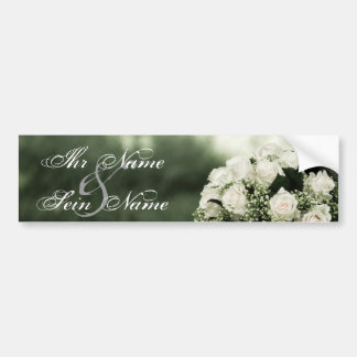 Elegant Wedding Invitations Bumper Sticker