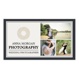 Elegant Wedding Photographer Photography Pack Of Standard Business Cards