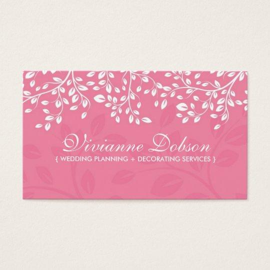 Elegant Wedding Planner Business Cards