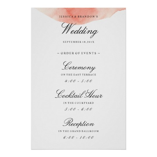Order Of Reception Events At Wedding: Wedding Date Art, Posters & Framed Artwork