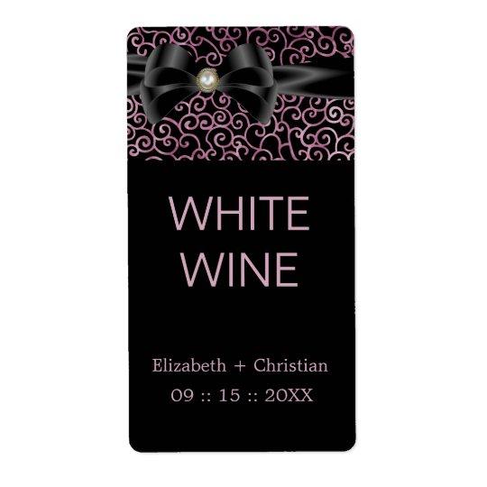Elegant Whispers Wine Label