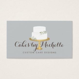 Custom Cake Business Cards
