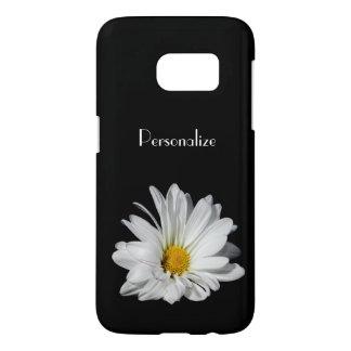 Elegant White Daisy Flower With Name
