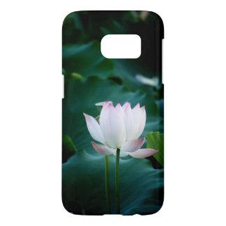 Elegant white Lotus Flower