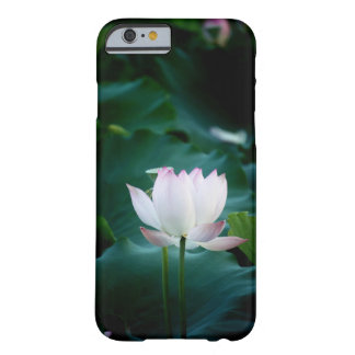 Elegant white Lotus Flower Barely There iPhone 6 Case