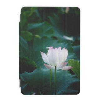 Elegant white Lotus Flower iPad Mini Cover