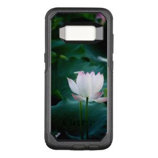 Elegant white Lotus Flower OtterBox Commuter Samsung Galaxy S8 Case