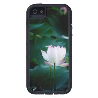 Elegant white Lotus Flower Tough Xtreme iPhone 5 Case