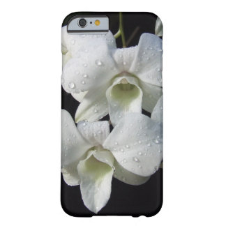 Elegant White Orchid Floral Photo Barely There iPhone 6 Case
