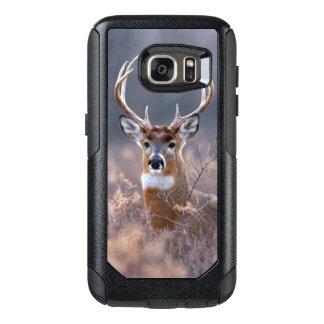 Elegant Whitetail Deer Autumn Or Winter Season OtterBox Samsung Galaxy S7 Case