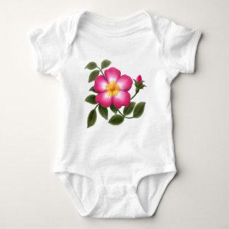 Elegant Wild Rose Infant Creeper