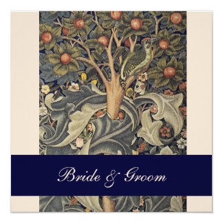 Elegant William Morris Wedding Invitations