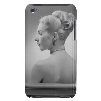 Elegant Woman Barely There iPod Case