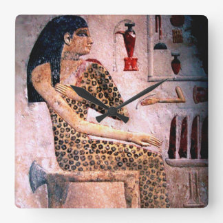 ELEGANT WOMAN ,FASHION AND BEAUTY OF ANTIQUE EGYPT CLOCK