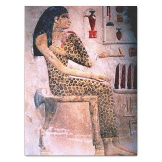 ELEGANT WOMAN ,FASHION AND BEAUTY OF ANTIQUE EGYPT TISSUE PAPER