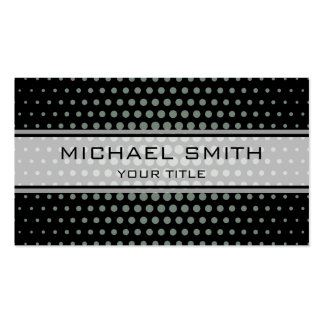 Elegant Xanadu Polka Dot Pattern Pack Of Standard Business Cards