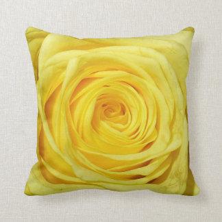 Elegant Yellow Rose Collection Cushion