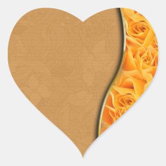 Elegant Yellow Rose valentine gift Stickers