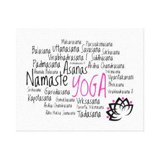 Elegant Yoga Decor