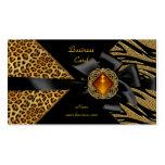 Elegant Zebra Leopard Black Gold