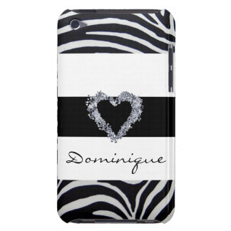 Elegant Zebra Stripe iPod Touch Cover