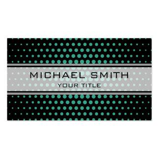 Elegant Zomp Polka Dot Pattern Pack Of Standard Business Cards