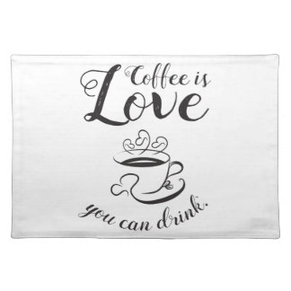 Elegante Coffee Placemat