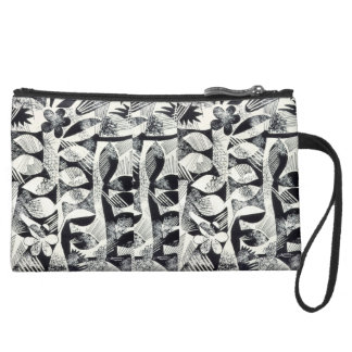 Elegence in B&W - Clutch Bag Wristlet