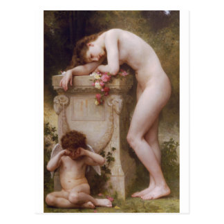 Elegy by William-Adolphe Bouguereau Postcards