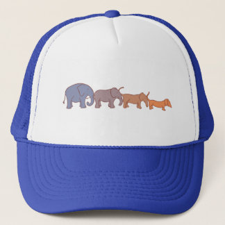 Elehound or doggyphant? trucker hat