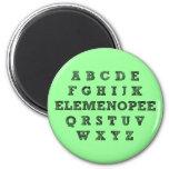 Elemenopee Alphabet Funny Fridge Magnet
