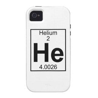 Element 002 - He - Helium Full iPhone 4 Case