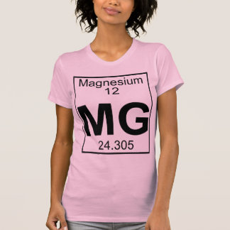 Element 012 - Mg - Magnesium (Full) T-Shirt