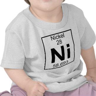 Element 028 - Ni - Nickel (Full) Tshirt