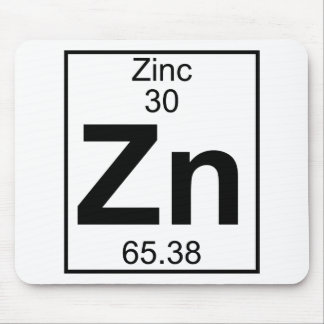 Element 030 - Zn - Zinc (Full) Mouse Mat