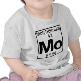 Element 042 - Mo - Molybdenum (Full) Tshirts