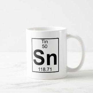 Element 050 - Sn - Tin (Full) Coffee Mug