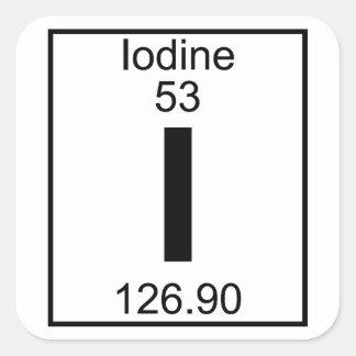 Element 053 - I - Iodine (Full) Sticker