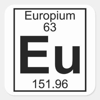 Element 063 - Eu - Europium (Full) Sticker