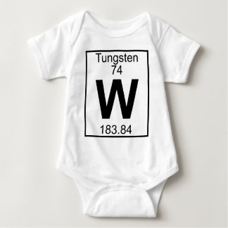 Element 074 - W - Tungsten (Full) Tshirts