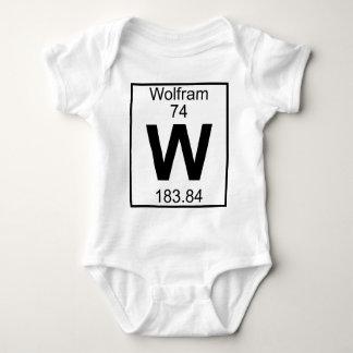 Element 074 - W - Wolfram (Full) Baby Bodysuit