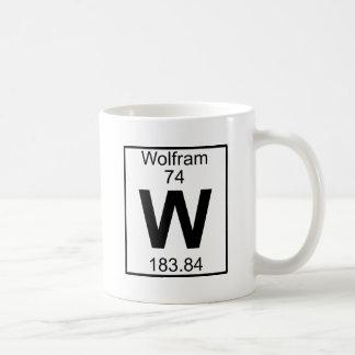 Element 074 - W - Wolfram (Full) Mugs