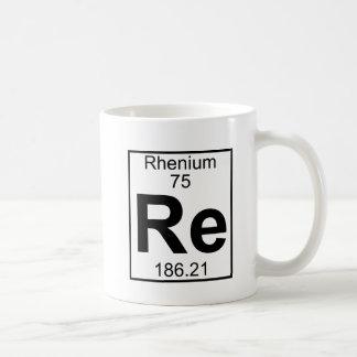 Element 075 - Re - Rhenium (Full) Coffee Mug